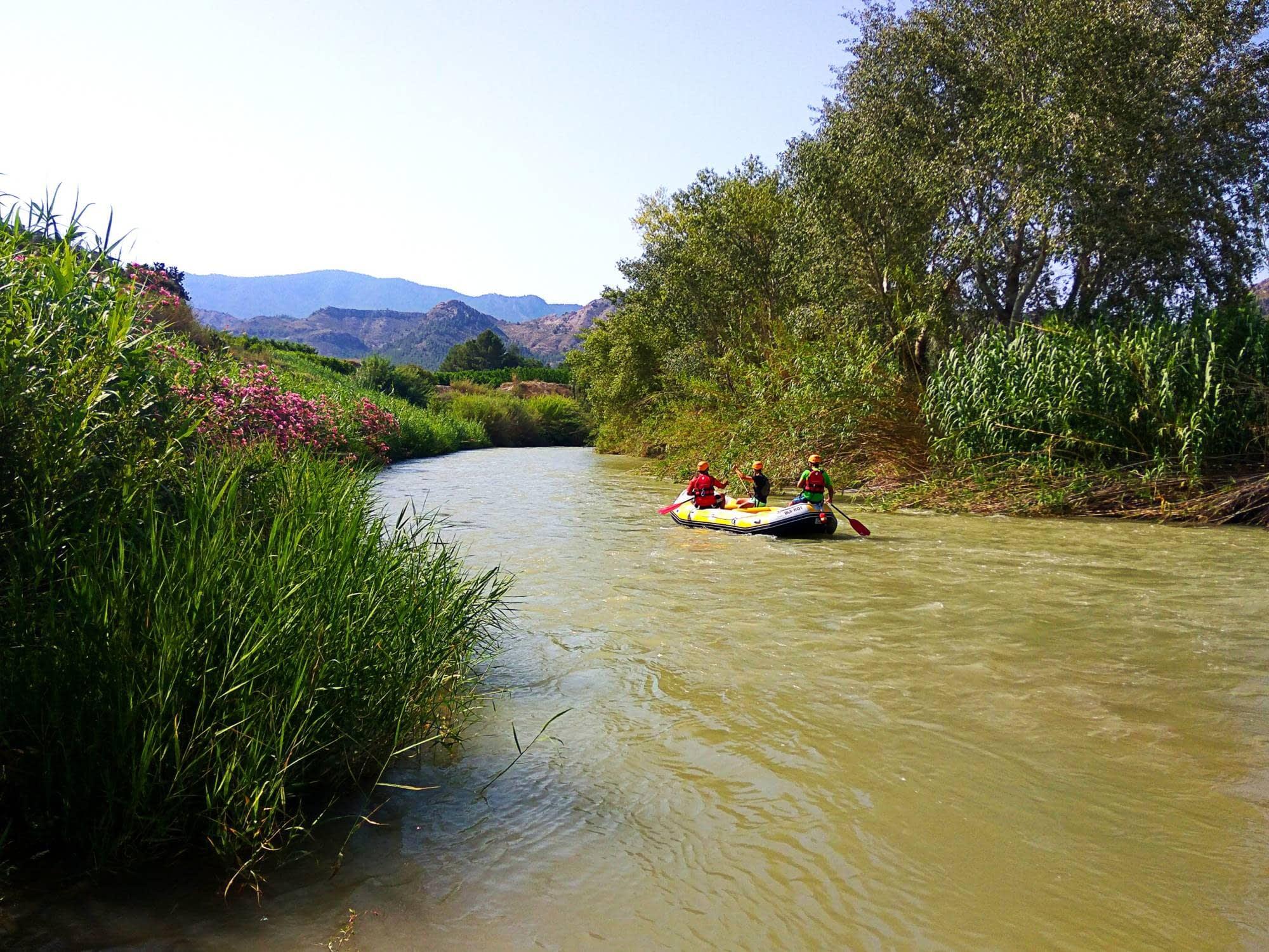 Programa Redes. Descenso del Río Segura