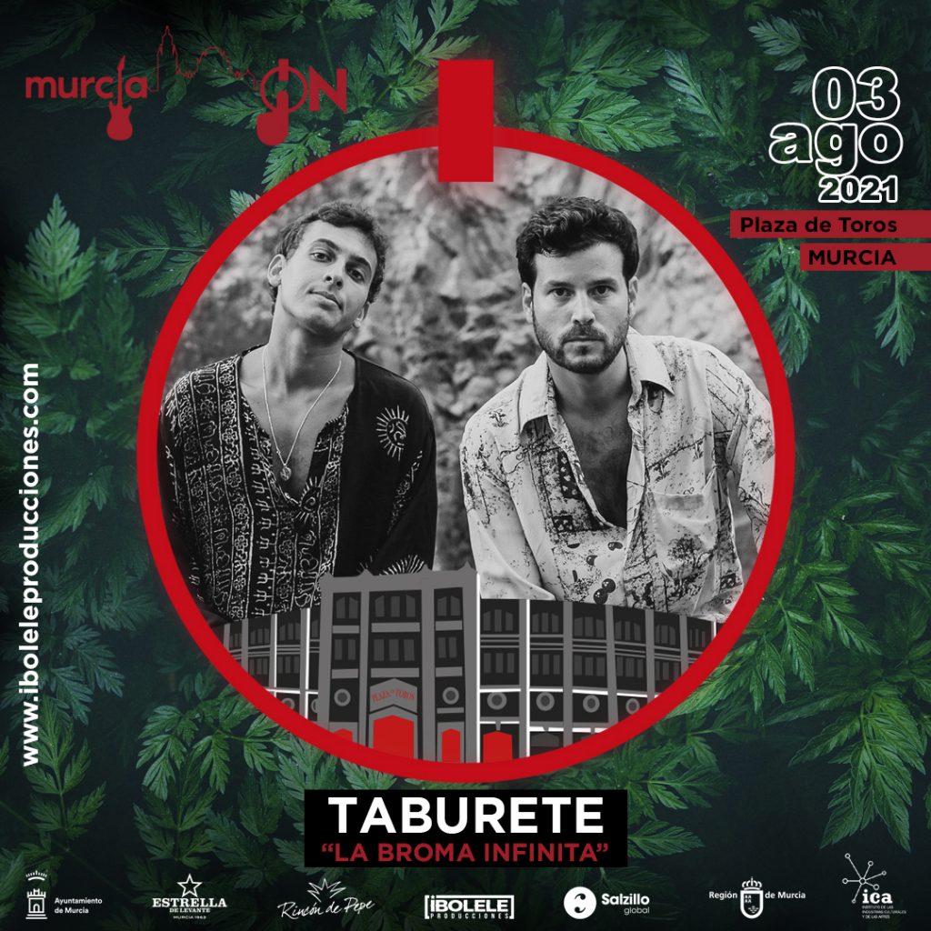 Murcia On: Taburete «La broma infinita»