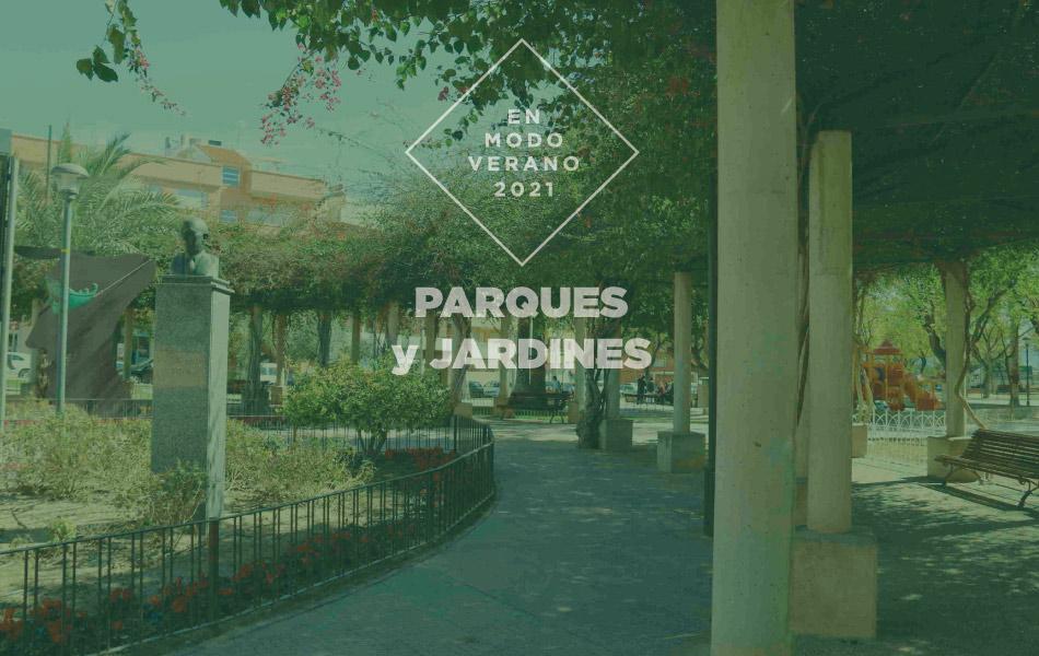 Miércoles 4 de agosto: Cabezo de Torres (Jardín de la Constitución)
