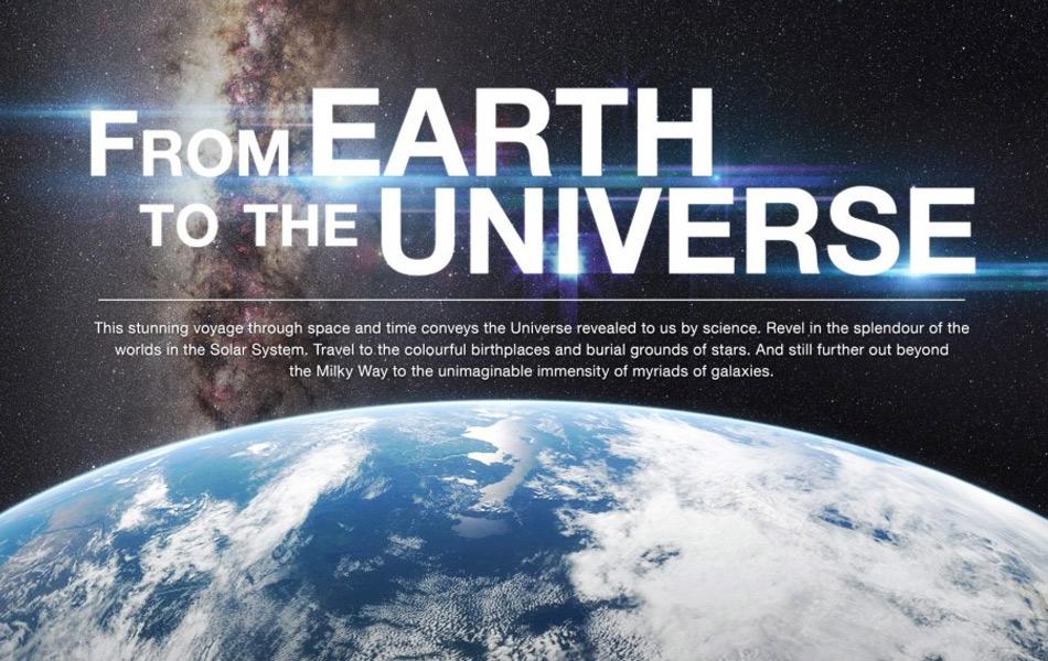 Planetario: El documental del Mes «De la Tierra al Universo»